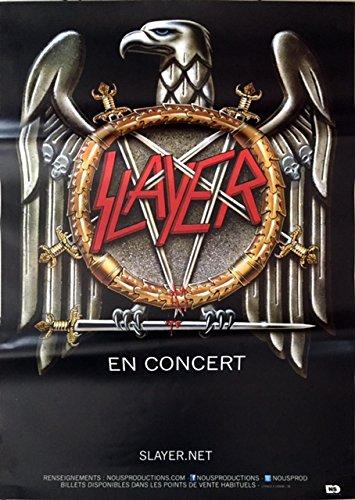 Slayer, 70 x 100 Cm-Poster locandina