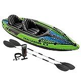 Intex - 68306Np - Jeu D Eau Et De Plage - Set Kayak Challenger K2 - 2