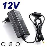 Netzadapter Ladegerät 12V für Fernseher Continental Edison led215C2TV LED