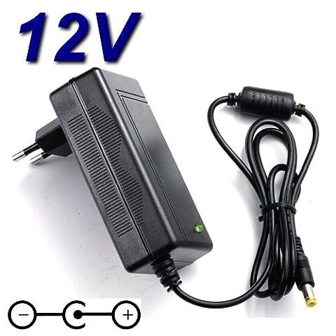Adaptateur Secteur Alimentation Chargeur 12V pour Téléviseur CONTINENTAL EDISON LED215C2 TV LED