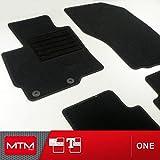 MDM Fussmatten ASX ab 05.2010- Passform wie Original aus Velours, Automatten mit Absatzschoner aus Textile, Rand rutschhemmender, cod. One 2215