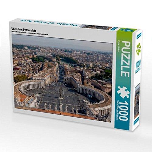 Über dem Petersplatz 1000 Teile Puzzle quer (CALVENDO Orte)