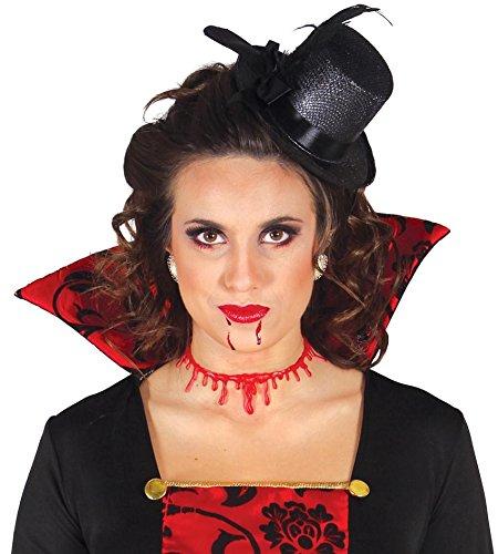 615 - Narbe aufgeschnittener Hals mit Blut (Halloween Guirca)