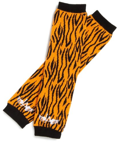 LANDING ANGELS Babystulpen - Safari Tiger LA016 Unisex - Baby Babybekleidung Leggins, Gr. one size, Orange
