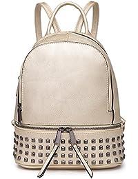 HB Style - Bolso mochila  para mujer Negro negro