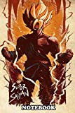 Notebook: The Super Saiyan , Journal for Writing, College Ruled Size 6' x 9', 110 Pages