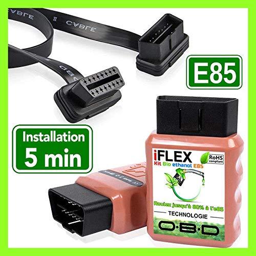 iFLEX KIT Ethanol FlexFuel E85 Bioethanol 3 4 6 8 Cylindres ELM327 COM E 85 OBD obd2