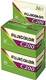 Fuji 200-135 Colour Negative Film 36 Exposures Pack of 2