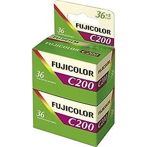 Fujifilm - C200 - Pellicule Photo Argentique Couleur - Film 24x36 - 200 ISO - 36 Poses (Bipack)