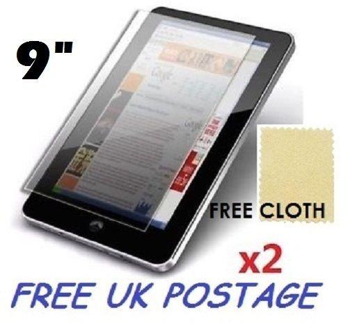 ASOSMOS Universal gehärtetes Glas Schutzfolie Displayschutzfolie für Tablet iPad 7