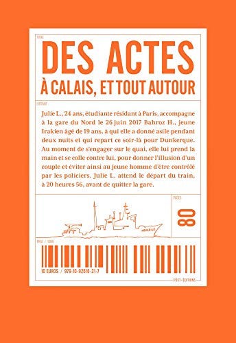 Des actes à Calais et tout autour par Collectif