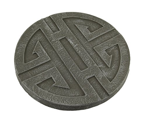 celtic-symbol-grey-cement-decorative-round-step-stone-10-inch
