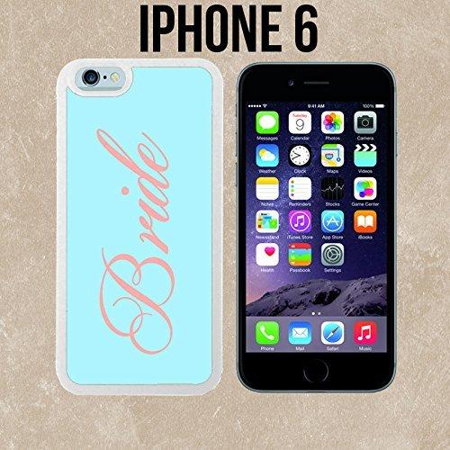 grün Braut Custom Made Case/Cover/Haut für iPhone 6-weiß-Fall DIY HD Design PC Hard New Cover ()