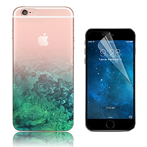 iPhone 6 Plus Cover, Bonice iPhone 6S Plus Custodia (5.5), Ultra Slim Thin Morbido TPU Clear Trasparente Animale Cat Case Custodia 05
