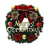 Türkranz Weihnachten Deko Girlande, Bogen Weihnachtskugeln Christbaumschmuck Für Hochzeit Party Wohnzimmer Fenster Von Vrarula