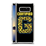 Head Case Designs Offizielle WWE Certified G Enzo and Big Cass Silber Argent Silber Shockproof Fender Hülle für Samsung Galaxy Note8 / Note 8