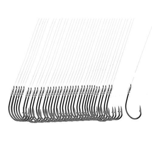 Anzuelo de pesca - TOOGOO(R) 40 pieza linea de pesca 8# de longitud de 20