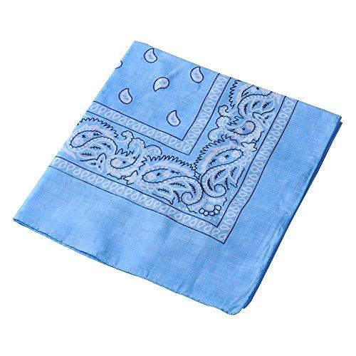 Danapp Écharpe foulard multifonctionnel écharpe en plein air foulard (Bleu clair)