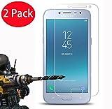 2 Pack - Samsung Galaxy J2 Pro 2018 Verre Trempé, FoneExpert Vitre Protection Film de Protecteur d'écran Glass Film Tempered Glass Screen Protector pour Samsung Galaxy J2 Pro 2018 / J2 2018