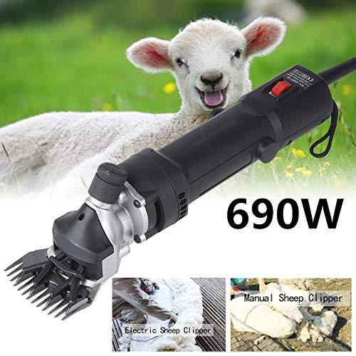 Vinteky 690W Schaf Schermaschine elektrisch für Schafe