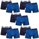 10 er Pack Puma Boxer shorts / true blue / Size M / Herren Unterhose