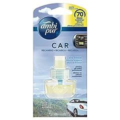 Idea Regalo - Ambi Pur Car Brezza Leggera Deodorante per Auto, Ricarica 7 ml