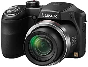 Panasonic Lumix DMC-LZ20 16.1MP Point and Shoot Camera (Black) with 21x Optical Zoom, Memory Card and Carry Case