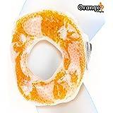 Paquete de gel premium para rodilla y envoltura de hielo (para el alivio del dolor de rodilla y codo con hielo) de Orange Physio