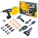 YAHAMA 19 Teilig Handwerker Geschenke Kinder Werkzeug Spielzeug ab 3