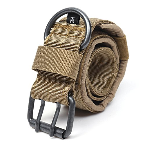 GIlH Nylon Tactical Hundehalsband Military Einstellbare Trainingshundehalsband mit Metall D-Ring-Schnalle M Größe (Elite Hundehalsband)
