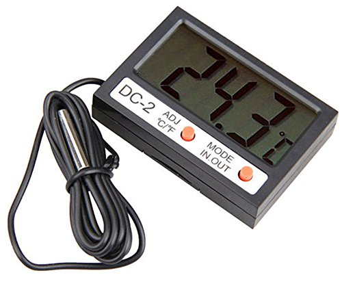 SaySure - Digital LCD Indoor/Outdoor Hygrometer Thermometer