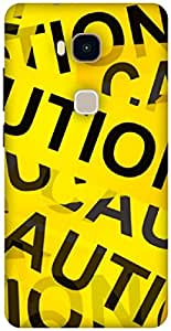 The Racoon Grip printed designer hard back mobile phone case cover for Huawei Honor 5X. (CAUTION)