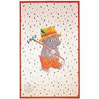 Spiegelburg Garden Oskar der Frosch - Kinderteppich 100x160 cm Farbe Weiss, Öko-Tex zertifiziert für Kinderzimmer und Babyzimmer, freundliche Bildmotive