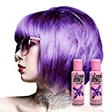 X2 Tinte Capilar Semi-Permanente Crazy Color 100ml (Hot Purple - Morado)