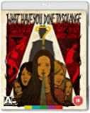 What Have You Done To Solange? [Dual Format Blu-Ray + DVD]