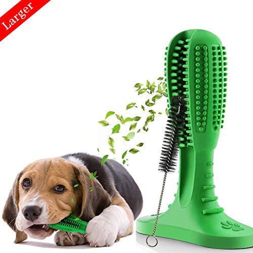 Hundezahnbürste Stick Silikon Pet zahnbürste , Aweohtle Hundespielzeug Kauspielzeug Zahnpflege, Zahn von Hund Zahnreinigung, Geschenk für Haustiere aus Naturkautschuk