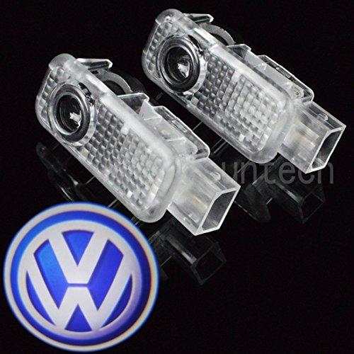 Ruicer led proiettore Porta Benvenuto di luce porta ombra Logo luce per Volkswagen VW Phaeton Passat Touareg