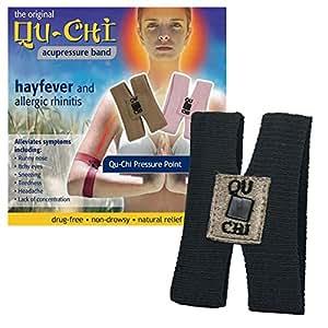 Qu-Chi Hayfever Acupressure Band Black