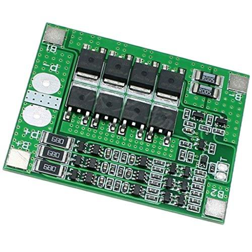 IPOTCH 3 Series 10,8 V 11,1 V 12 V 12,6 V Lithium Batterie Schutzplatine Überladeschutz Schutzplatine Schutzmodul mit Balancing Funktion
