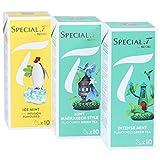 Special.T – Mint Mix – Biokräuter- und Grüntees (3 Sorten à 10 Kapseln)
