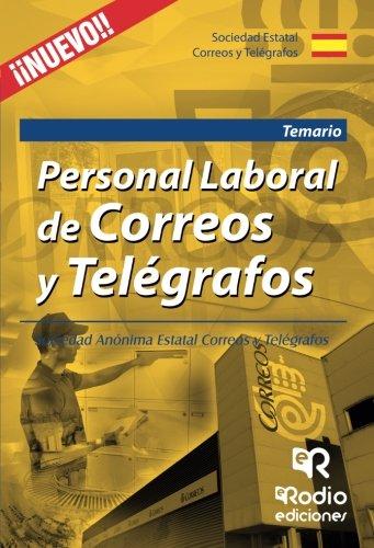 Personal Laboral de Correos y Telégrafos. Temario por Varios Autores