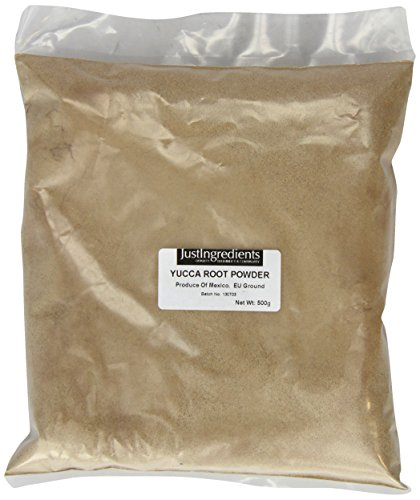 JustIngredients Yuccawurzel Pulver, Yucca Root Powder, 1er Pack (1 x 500 g) (Pulver Yucca)