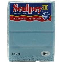 Sculpey Iii Polymer Clay 2oz-Light Blue Pearl by Sculpey
