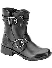 HARLEY DAVIDSON Femmes - Bootes GRACE D83728 - black