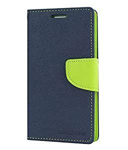 CLASSICO WALLET DAIRY FLIP COVER FOR SONY XPERIA C3 (BLUE GREEN)