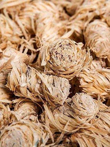 51gl97Y1ZTL - 10 kg Kamin-Anzünder und Grill-Anzünder (Ofen-anzünder, Anzündwolle, Anzündhilfe) aus Bio Holz-Wolle und Wachs - schnell und umweltfreundlich
