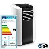 TROTEC Lokales mobiles Klimagerät PAC 5800 X mit 5,8 kW/19.700 Btu 4-in-1-Klimagerät: Kühlung, Ventilation, Entfeuchtung, Lufterfrischung