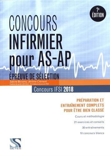 Concours infirmier pour AS-AP 2018 : Préparation et entraînement complets