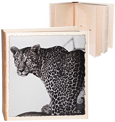 alles-meine.de GmbH Einsteckalbum / Fotoalbum - Zootiere - Leopard / Gepard / Jaguar - 2. Wahl - Gebunden zum Einstecken - 100 Seiten - groß für bis zu 200 Bilder - 11x16 - Fotobuch / Photoalbum