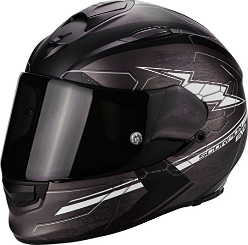 Scorpion Helm Motorrad exo-510 Air Cross, matt dark grey/black/white, XXL